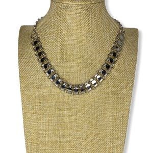 Vintage Sarah Coventry silver chain choker